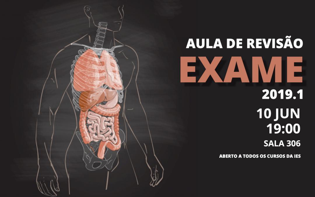 Aulão de Revisão de Anatomia 2019.1