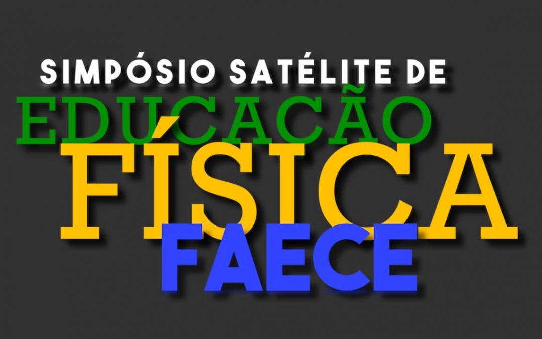 Simpósio Satélite de Ed. Física Faece